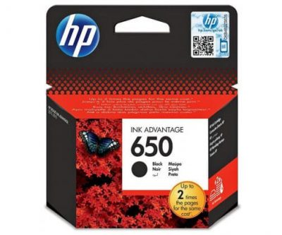 Tusz HP 650 czarny oryginalny