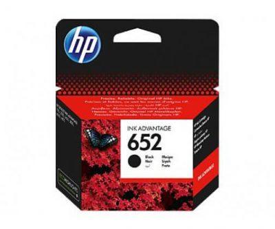 tusz HP 652 czarny oryginalny