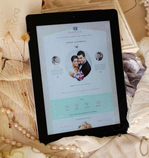 strona ślubna - profesjonalna responsywna
